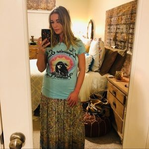 SPELL Turquoise Stone Hunter Tee Size S